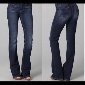 7 For All Mankind Hugh Waist Bootcut Jeans
